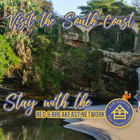 South Coast KZN - Uvongo Waterfall