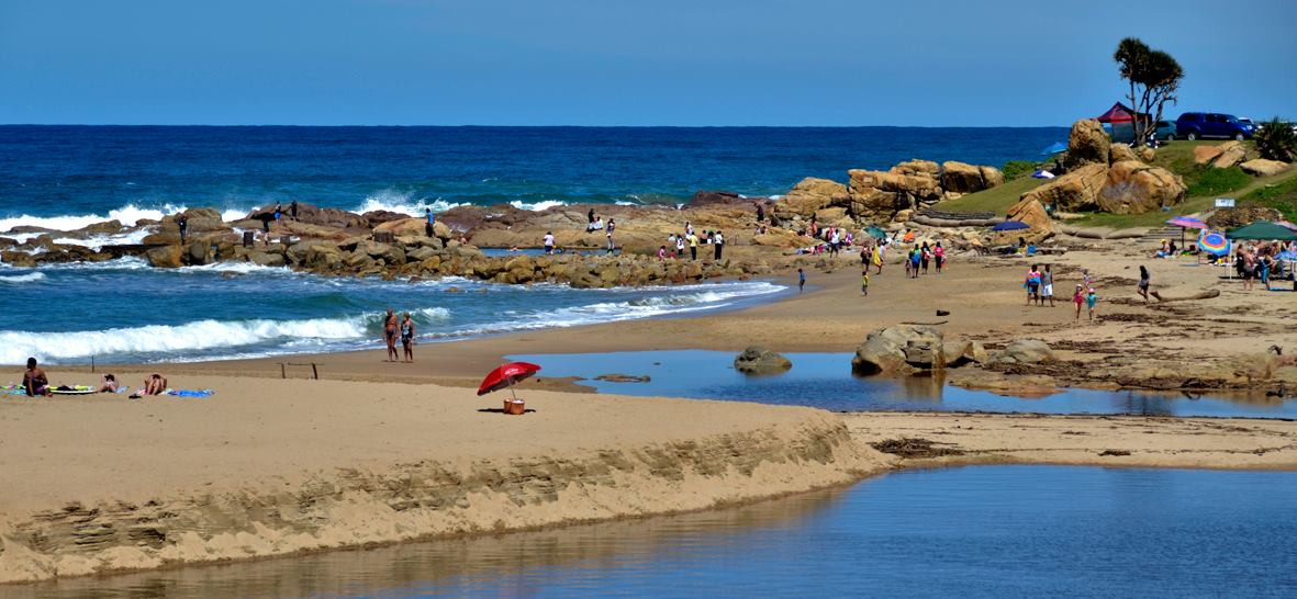 Ramsgate on the KZN South Coast