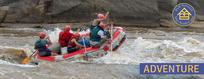 White Water Rafting on the KZN South Coast