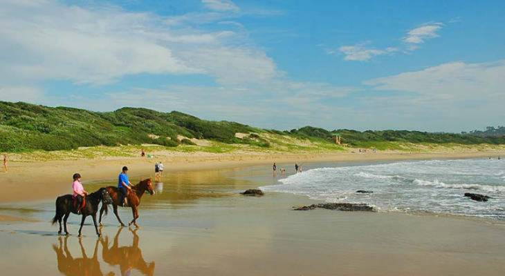 Marina Beach on the KZN South Coast