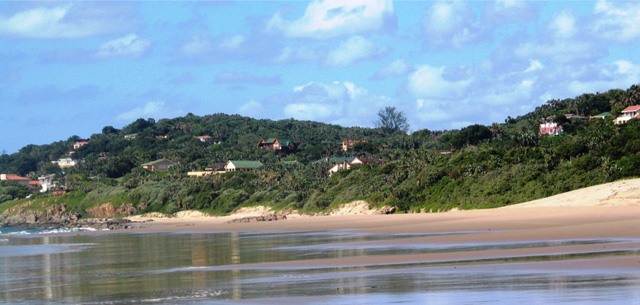 Palm Beach on the KZN South Coast